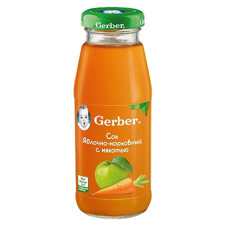 Сок Gerber яблоко морковь 0.175л с 5месяцев