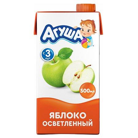 Сок Агуша яблоко осветленный 500мл с 3лет