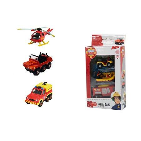 Пожарный транспорт Fireman Sam 3 шт