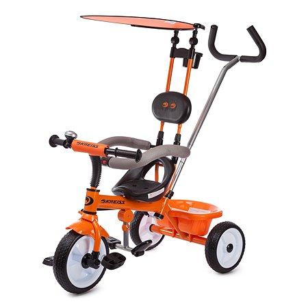 Велосипед Kreiss с тентом Оранжевый