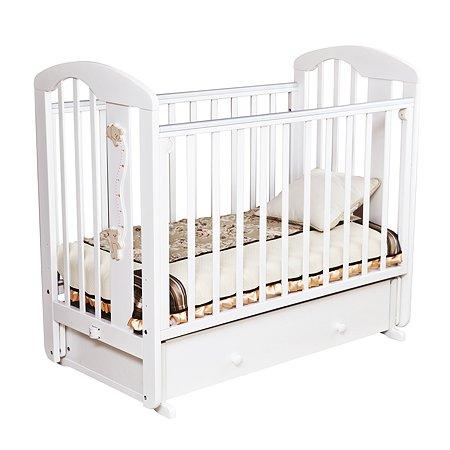 Кровать детская Красная Звезда (Можга) Агата С719 Белая