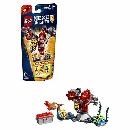 Конструктор LEGO Nexo Knights Мэйси – Абсолютная сила (70331)