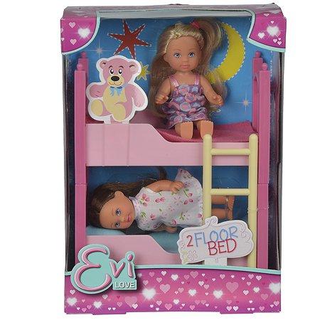 Кукла Evi Еви с кроваткой 2 шт