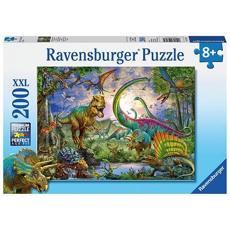 Пазл Ravensburger Мир динозавров 200элементов 12718