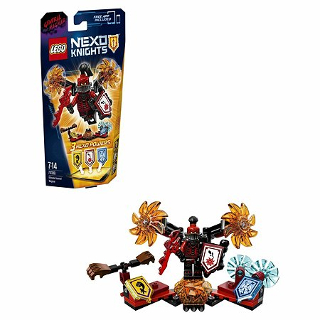 Конструктор LEGO Nexo Knights Генерал Магмар — Абсолютная сила (70338)