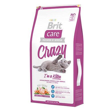 Корм влажный для котят/кошек Brit Care 7кг беременных и кормящих сухой