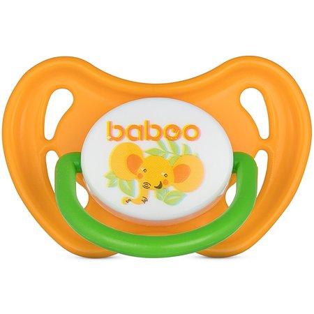 Соска-пустышка BABOO Safari с 0месяцев 5-313