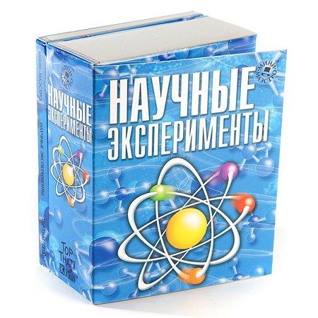 Развивающий набор-книжка МИНИ-МАЭСТРО Научные эксперименты