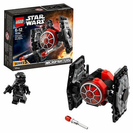 Конструктор LEGO Микрофайтер Истребитель СИД Первого Ордена Star Wars TM (75194)