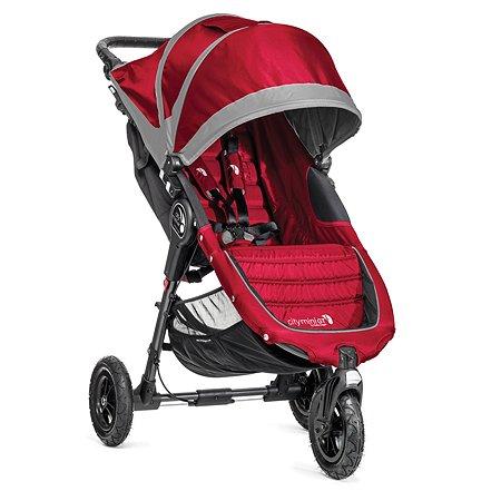 Коляска Baby Jogger City Mini GT с бампером Crimson