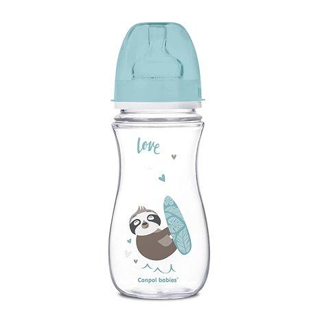 Бутылочка Canpol Babies Toys 300мл c 12месяцев Голубая 250989201