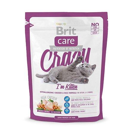 Корм влажный для котят/кошек Brit Care 400г беременных и кормящих сухой