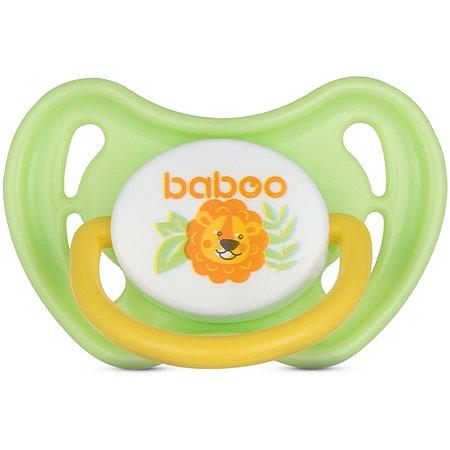 Соска-пустышка BABOO Safari с 6месяцев 5-314