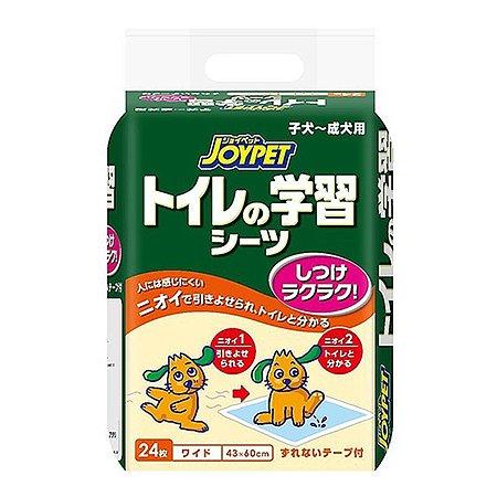 Пеленки для собак Joypet для приучения туалету широкие 24шт