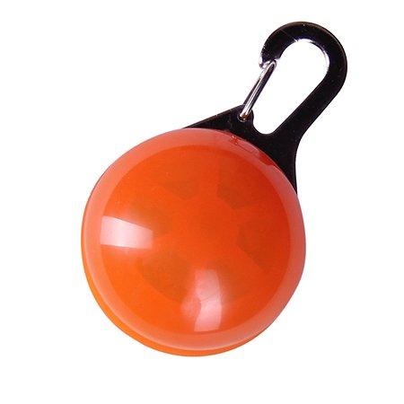 Блинкер для собак Грызлик Ам светящийся Оранжевый