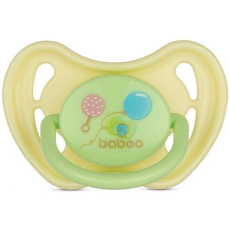 Соска-пустышка BABOO Baby Shower с 0месяцев 5-015