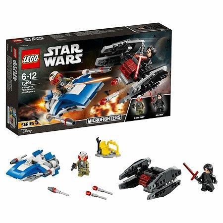 Конструктор LEGO Истребитель типа A против бесшумного истребителя СИД (75196)