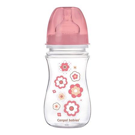 Бутылочка Canpol Babies Newborn baby 240мл Розовая 250989237