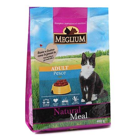 Корм сухой для кошек Meglium Adult 400г рыба