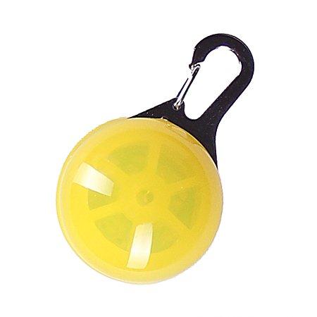 Блинкер для собак Грызлик Ам светящийся Желтый