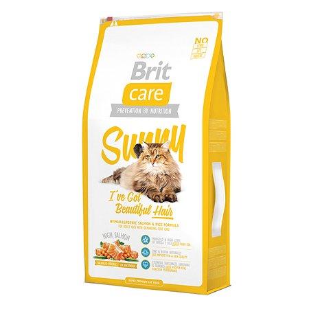 Корм сухой для кошек Brit Care 7кг длинношерстных