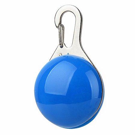 Блинкер для собак Грызлик Ам светящийся Синий