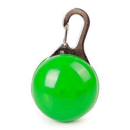 Блинкер для собак Грызлик Ам светящийся Зеленый