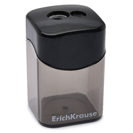 Точилка Erich Krause пластиковая Wave в ассортименте