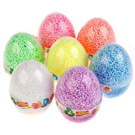 Пластилин шариковый Multiart Фиксики с блестками в яйце 237865