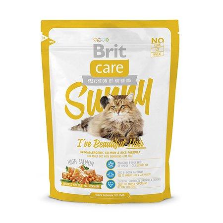 Корм сухой для кошек Brit Care 400г длинношерстных
