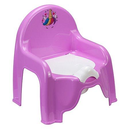 Горшок-стульчик IDEA Единорог М 2596