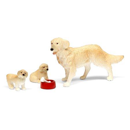 Набор фигурок животных Lundby Пес со щенками 5предметов LB_60807400