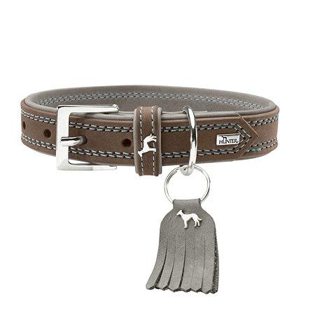 Ошейник для собак Hunter Lucca Серый