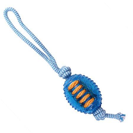 Игрушка для собак Грызлик Ам Мяч регби Durable Rope 30.GR.030