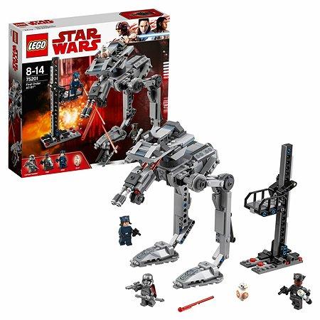 Конструктор LEGO Вездеход AT-ST Первого Ордена Star Wars TM (75201)