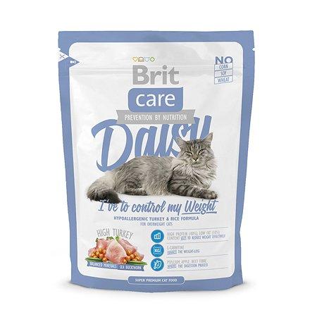 Корм сухой для кошек Brit Care 400г склонных к излишнему весу