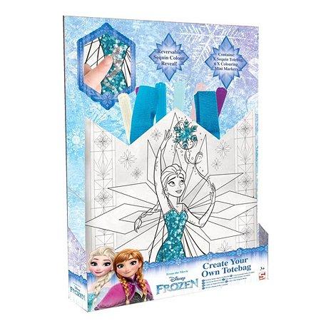 Набор для творчества Sambro Frozen Раскрась сумку DFR16-4633
