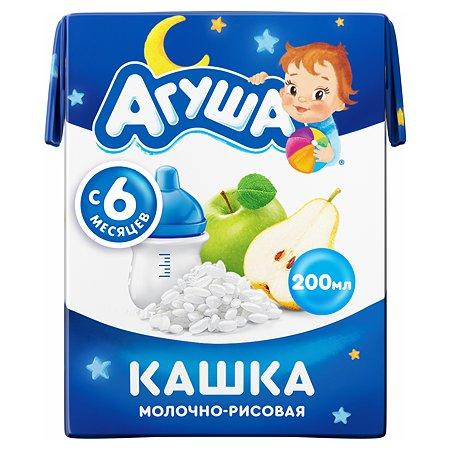Кашка Агуша Засыпайка Рис-Яблоко-Груша 200 мл с 6 месяцев