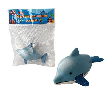 Дельфин заводной 1TOY 7см