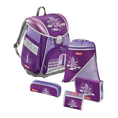 Ранец Hama Sparkling Dream TOUCH 5 предметов фиолетовый