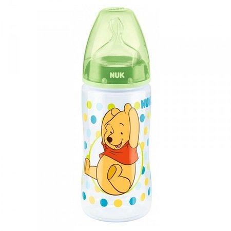 Бутылочка Nuk Disney First Choice Plus 300мл Зеленая