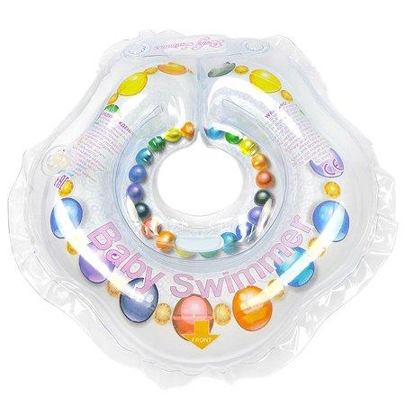 Круг для купания BabySwimmer Леди на шею 0-24месяцев BS01F