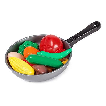 Игровой набор Demi Star Сковорода с продуктами, 11 предметов