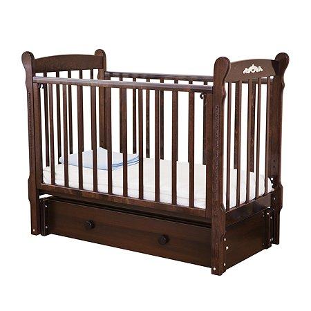 Кровать детская Красная Звезда (Можга) Артем С579 шоколад