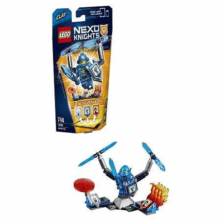 Конструктор LEGO Nexo Knights Клэй – Абсолютная сила (70330)