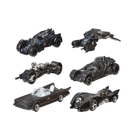 Машинка Hot Wheels персонаж  Бэтмен в ассорт