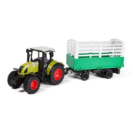 Трактор Mobicaro с прицепом CLAAS ARION 540 1:32