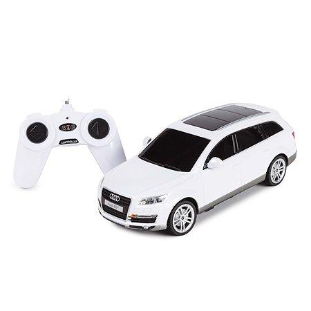 Машинка радиоуправляемая Rastar Audi Q7 1:24 белая