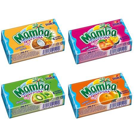 Жевательная конфета MAMBA Тропик 26,5 г в ассортименте