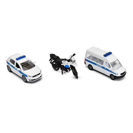 Набор машинок SIKU Полиция 1824RUS
